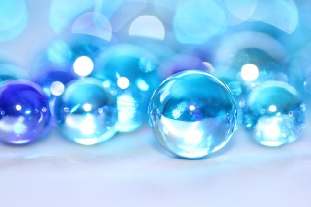 ガラスのイメージ(ビー玉)